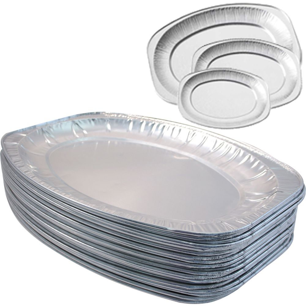 17 Quot Silver Foil Catering Trays Platters Serving Dishes