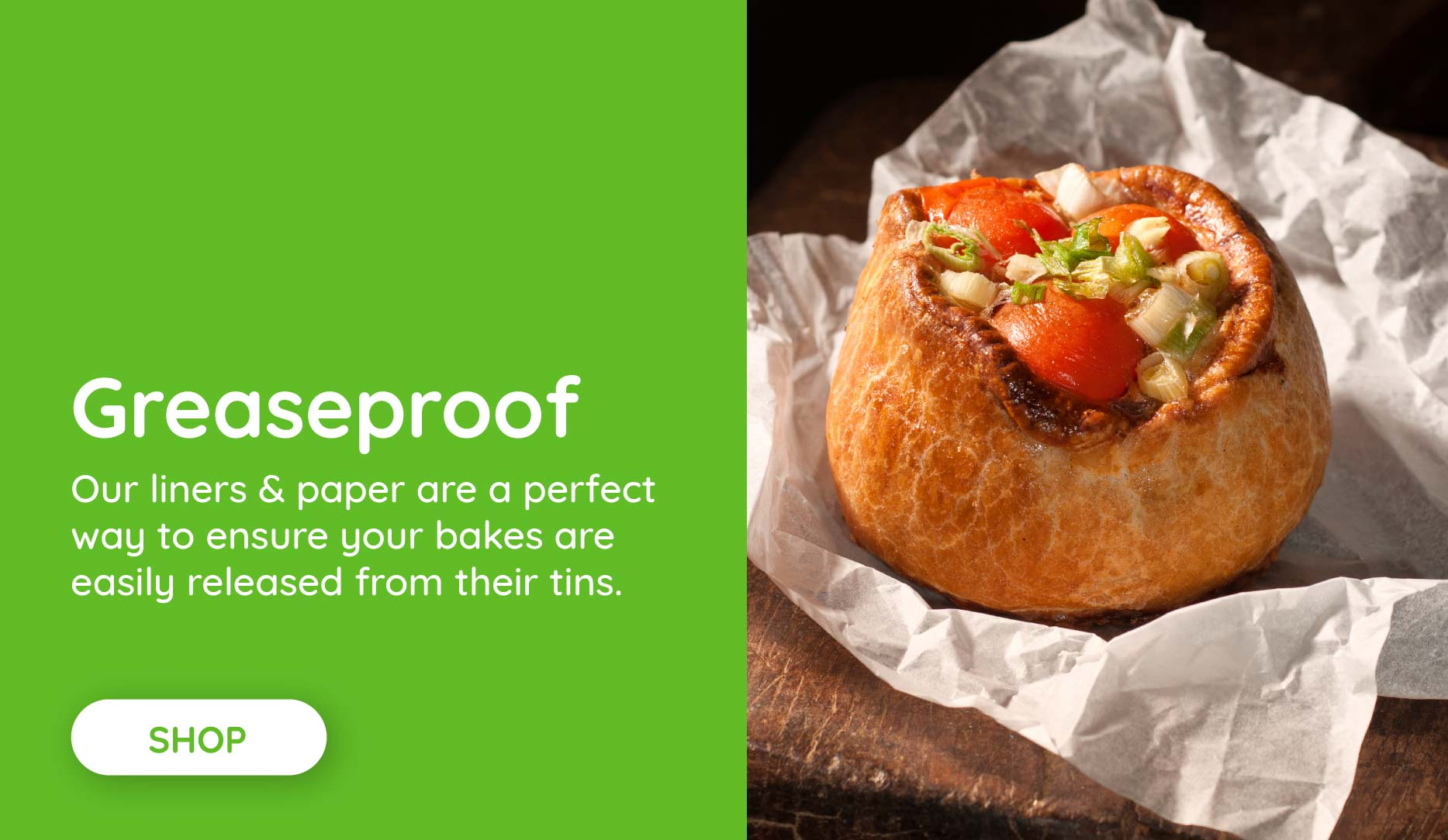 Shop greaseproof paper & liners